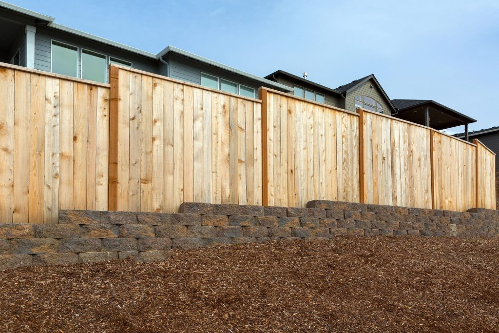 affordable residential privacy fence