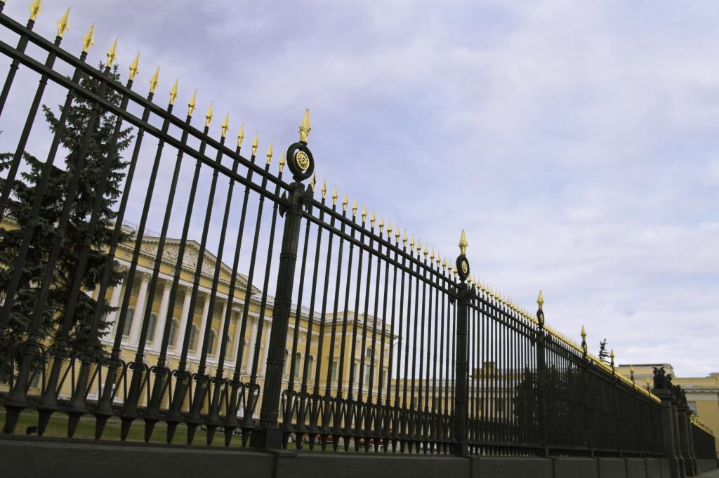 affordable wrought iron and aluminum fence