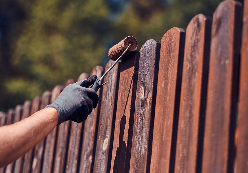professional wooden fence installation and repair